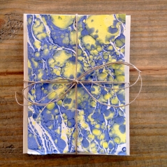 Handprinted Notecards_Set of Five